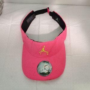 Women's Air Jordan Hot Pink Visor NEW
